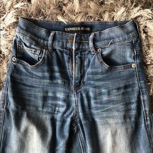 Express Jeans. Slightly worn. Still super cute!